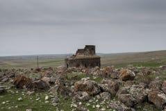 Heiliges Zoravar-Kirche in Yeghvard Armenien Lizenzfreies Stockbild