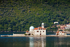 Heiligesgeorge-Insel, Montenegro Stockfotografie