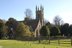 Heiligesnicholas-Kirche, Chawton Stockbilder