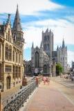 HeiligesNicholas Kirche gent belgien Lizenzfreie Stockfotografie