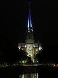 Heiligespeter-Kathedrale bis zum Nacht lizenzfreies stockbild