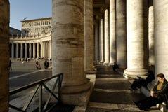 Heiligespeters Basilika, Rom, Italien Stockbilder