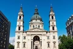 Heiligesstephens Basilika in Budapest lizenzfreies stockbild