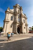 Heiliggeistkirche - Church Of The Holy Spirit In Munich Germany Royalty Free Stock Photos
