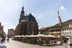 Heiliggeistkirche, Heidelberg, Duitsland royalty-vrije stock afbeeldingen