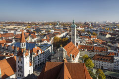 Heiliggeistkirche in Munich, Germany, 2015 Stock Photography