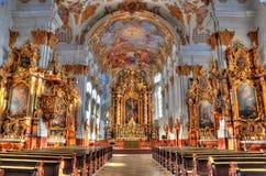 heiligkreuz Fotografering för Bildbyråer
