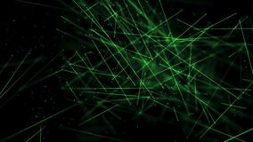 Heilkunde haftet Umwelt mit DOF-Grün vektor abbildung