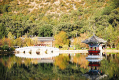 Heillongtan, Black Dragon Pool at Lijiang Stock Images