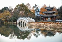 Heillongtan, Black Dragon Pool at Lijiang Royalty Free Stock Photos