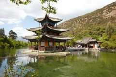 Heilongtan lake Royalty Free Stock Photos