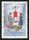 Heilsarmee in Finnland stockfotos
