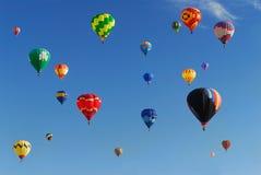 Heißluft-Ballon-Festival Stockbilder
