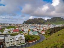 Heimaey IJsland Stock Fotografie