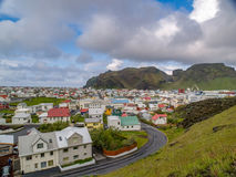 Heimaey Islândia fotografia de stock