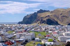 Heimaey in Westman-Inseln Stockfotos