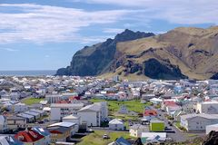 Heimaey in Westman Islands Stock Photos