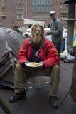 Heimatlose Person stockfotografie
