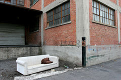 Heimatloses Leben Lizenzfreies Stockfoto