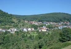Heimbuchenthal,Spessart,Bavaria Germany royalty free stock photography