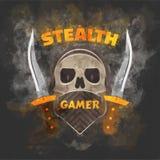 Heimelijkheid gamer Stock Afbeelding