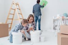 Heimwerken und Erneuerung lizenzfreie stockfotos