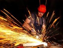 Heimwerker im Dienst lizenzfreies stockbild