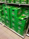 Heineken beer  crates Royalty Free Stock Photography