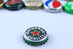 Heineken bottle cap Royalty Free Stock Photos