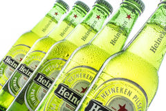 Heineken bottles Royalty Free Stock Images