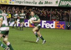 Heineken Cup rugby match USAP vs Leicester Stock Image