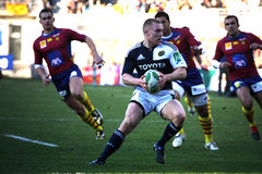 Heineken Cup rugby match USAP vs Munster Royalty Free Stock Photo