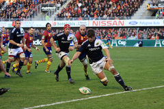 Heineken Cup rugby match USAP vs Munster Stock Image