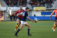 Heineken Cup rugby match USAP vs Munster Stock Photo
