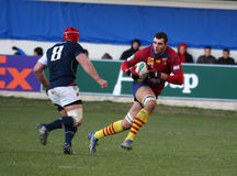 Heineken Cup rugby match USAP vs Munster Royalty Free Stock Photography
