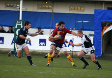 Heineken Cup rugby match USAP vs Munster Royalty Free Stock Images