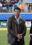Heineken Cup rugby match USAP vs Ospreys Royalty Free Stock Photo