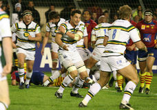 Heineken Cup rugby match USAP vs Saints Royalty Free Stock Photos