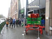 Heineken-Erfahrung Lizenzfreies Stockbild