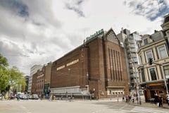 Heineken-Erfahrung, Amsterdam, die Niederlande Stockfotografie