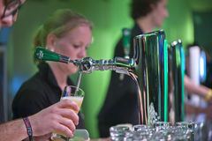 Heineken Experience Bar Stock Photo