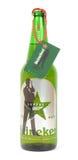 Heineken limited Edition bottle. Heineken special Edition bottle specifically designed for the latest James Bond film Stock Image
