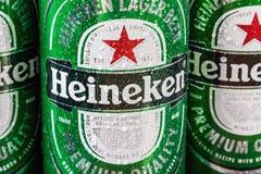 Heineken piwny globalny gatunek obraz royalty free