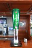 Heineken-Rohr Lizenzfreies Stockbild