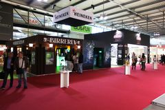 Heineken at Tuttofood Milano World Food Exhibition 2013 Stock Photos