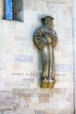 Heinrich Bullinger Statue Zurich Switzerland Stock Photos