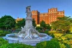 Heinrich Heine Fountain - New York City stockbilder