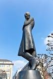 Heinrich Heine Monument in Hamburg. Monument of the famous German poet Heinrich Heine, located at the Rathausmarkt in Hamburg, Germany. Heine worked in Hamburg Royalty Free Stock Images