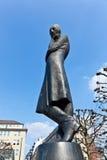 Heinrich Heine Statue in Hamburg Stock Photography