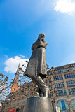 Heinrich Heine Statue in Hamburg Royalty Free Stock Photography